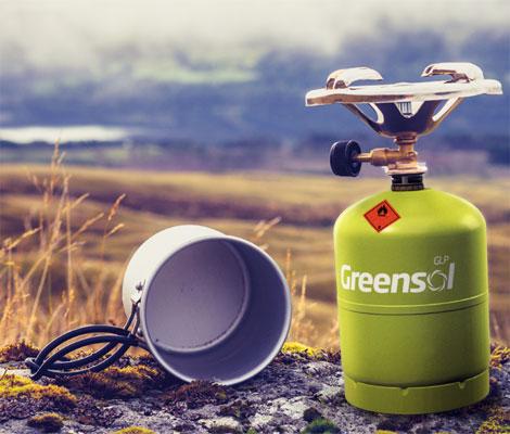 Usos de Greensol en actividades de ocio al aire libre