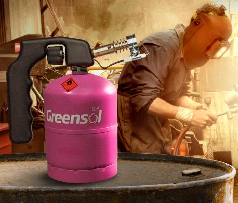 Usos de Greensol en actividades profesionales y de bricolaje