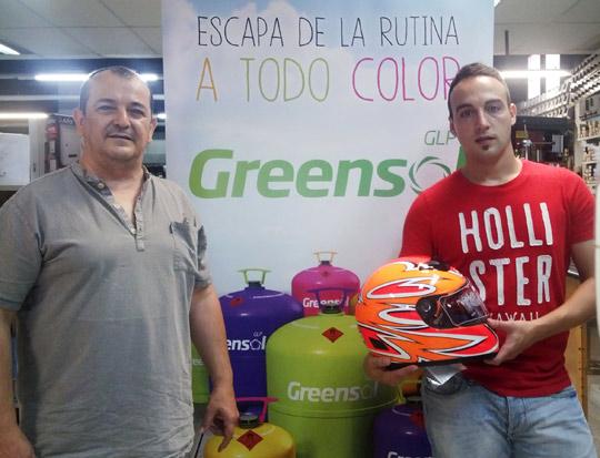 Tercer casco de los sorteos de verano de Greensol